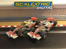 Scalextric Digital F1 Mclaren MP4-21 Cars Alonso & Hamilton, Good Runners