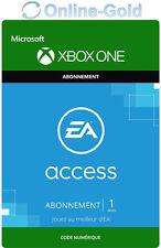 1 Mois EA Access Abonnement clé - Xbox One Digital Code jeu à télécharger - FR