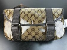 NWT AUTHENTIC Gucci Crystal GG GUCCISIMMA Waist Bag Fanny Pack W/ Receipt