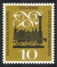Germany 1960 Railway/Rail/Trains/Steam Engine/Locomotive/Transport 1v (n28324)