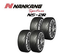 4x Nankang NS-2R Tyres - Track Day/Race/Road - 225/40 R18 92Y - MEDIUM