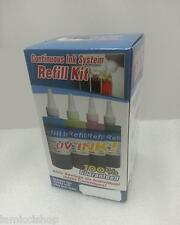 4 Color Refill Ink for CISS HP60 PhotoSmart C4680 C4780