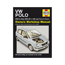 VW Polo 1.2 1.4 Petrol 1.4 1.9 Diesel 2002-05 (51 to 05 Reg) Haynes Manual