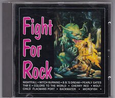 FIGHT FOR ROCK AOR MELODIC CD SAMPLER 1993-WITCH BURNING/HARRIDAN/WOLFCHILD