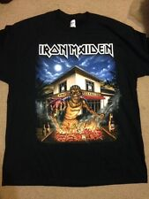 Iron Maiden Shirt Fort Lauderdale Ft Size Xl Book Of Souls Nicko McBrain 2016