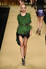 Louis Vuitton Runway Spicy Platform Emerald Green Shoes 36 1/2  WOW!!