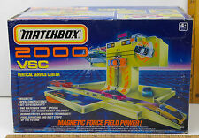 Very Rare 1990 Matchbox 2000 MAG LEV Vertical Service Center w/ Vehicle Unopened