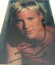 7x5 Signed Photo of Brittany Daniel - Sweet Valley High,