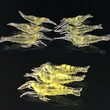 10 SHRIMP Prawn Lure Bass Coarse Sea River Fishing Cod Mackerel Salmon Bait