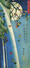 3 Print Set Traditional Japanese Woodblock Pictures Ando Utagawa Hiroshige Repro