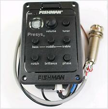 4-Band EQ Guitar Equalizer Acoustic Guitar Preamp Piezo Pickup Fishman 201