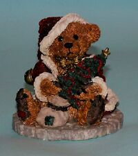 "Boyds Bears resin ""Grenville The Santa Bear"" # 2030 NIB 1993 retired Christmas"