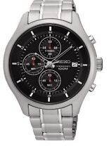 Seiko Chronograph SKS539 Black Dial Stainless Steel Men's Watch