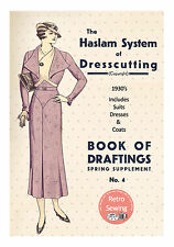 The Haslam System of Dressmaking Spring Suppliment No. 4 1930's -  Copy