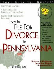 How to File for Divorce in Pennsylvania (Legal Survival Guides)-ExLibrary