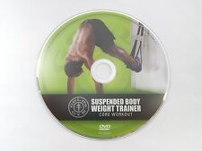 GOLD'S GYM Suspension Body Weight Trainer Core Workout DVD Exercise TRX