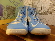 Nike Zoom Hyper Disruptor White & Baby Blue High Top Sneakers Men's size 17