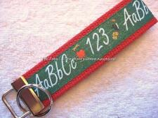 ABC/123 TEACHER Key Fobs (really cute keychains)