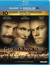 GANGS OF NEW YORK NEW BLU RAY DISC MOVIE FILM LEONARDO DICAPRIO MARTIN SCORSESE