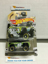 Custom Ford Bronco GREEN * 2016 Hot Wheels * Truck Series * Special Edition Z4