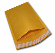 """100 #5 10.5x16 Kraft Bubble Mailers Mailing Padded Envelopes Bags KNJ 10.5""""x"""