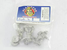 Gladiator Miniatures FOR 4 Unknown Pack New MOSC Medieval ?