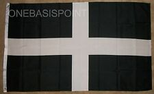 3'x5' Cornwall Flag Saint Piran Cornish British United Kingdom Crusaders UK 3X5