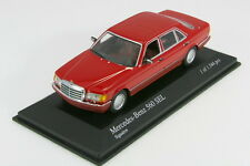 Minichamps 1/43 Mercedes-benz 560 SEL Red 1989  PMA Limited
