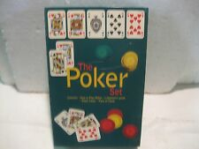 Classic How To Play Poker Set Card Game With Chips & Cards By Peter Arnold gm135