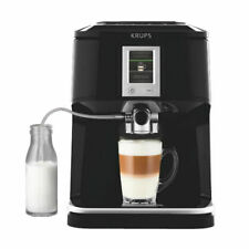 KRUPS EA 850 B Kaffee-Vollautomat, One-Touch-Funktion für Cappuccino