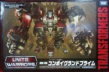Transformers UW-05 Convoy Grand with coin Combiner Wars MISB
