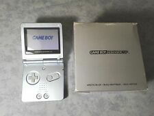 CONSOLE NINTENDO GBA GAME BOY ADVANCE SP * AZZURRO ARCTIC BLUE * BOXATO COMPLETO