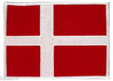 """Denmark Danish (embroidered) Patch 5""""x 4"""" (12 x 10CM) approx"""