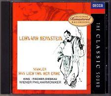 Leonard BERNSTEIN: MAHLER Das Lied von der Erde FISCHER-DIESKAU Classic Sound CD