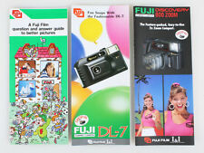 FUJI DISCOVERY 800/DL-7/PICTURE GUIDE SET OF 3