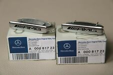 New genuine Mercedes AMG front seat badge 2 pieces