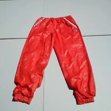 VTG 70S 80S FILA WINDBREAKER NYLON POLY TRACK ATHLETIC PANTS ITALY US 8 I 44