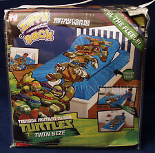 New ZIPPY SACK Teenage Mutant Ninja Turtles TMNT Twin Bed Blanket AS SEEN ON TV