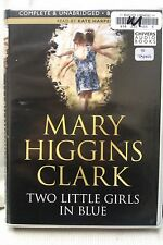 Two Little Girls in Blue by M Higgins Clark: Unabridged Cassette Audiobook (VV2)