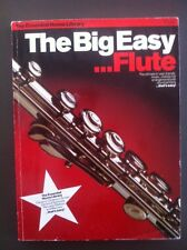 The Big Easy...Flute Sheet Music Large Book Classics Hymns Waltzes Marches