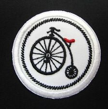 "Bike Meritt Badge Mini 2"" Iron or Sew On Patch"