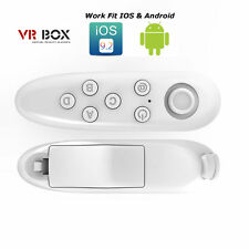 VR BOX Wireless Bluetooth Controller Movie Game Remote Android, iPhone (White)