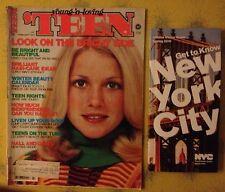 Teen magazine 1977 Fashion Ingenue Beauty Health ! Celebrities ! 70's Ads