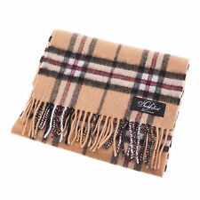 Dunedin Soft and Warm Elegant 100% Lambswool Scarf - Thomson Camel Tartan