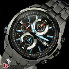Imported Casio Edifice Men's Wristwatch - EFR-536BK FULL BLACK CHRONOGRAPH
