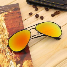 Unisex Women Men Vintage Retro Fashion Mirror Lens Sunglasses Glasses JD