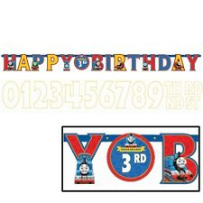 Disney Thomas The Train Add an Age Happy Birthday Jumbo Letter Banner Kit
