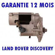 LAND ROVER DISCOVERY MK2 2.5 TD5 4X4 1999 2000 2001   2004 RMFD DEMARREUR MOTEUR