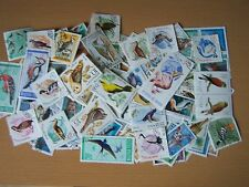 200 DIFFERENT BIRDS ON STAMPS,EXCELLENT.