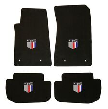 NEW BLACK FLOOR MATS 2010-2013 Camaro Embroidered 45th anniversary Logo on all 4
